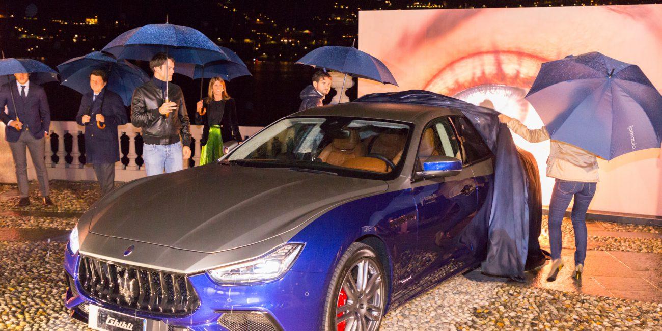 Maserati Ghibli - Como Casta Diva Resort 2